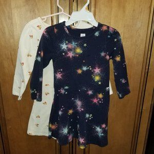 2 GAP DRESSES SIZE 5T